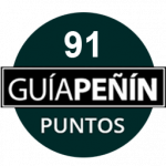 91 points, vintage 2016. Guía Peñín 2018, Spain