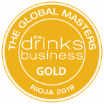 "Gold Medal, vintage 2012, ""Rioja Masters 2019"" The Drinks Business"
